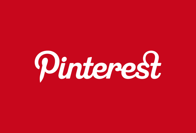 Pinterest Logo Website Layout