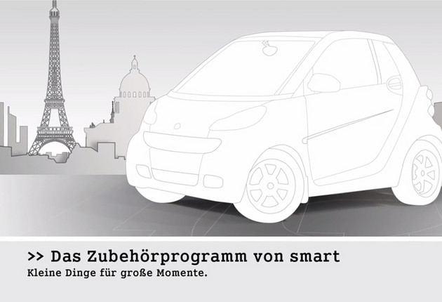 Smart Fortwo Accessories Motion Design Film für den Point of Sale