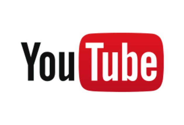 YouTube Logo Website Layout