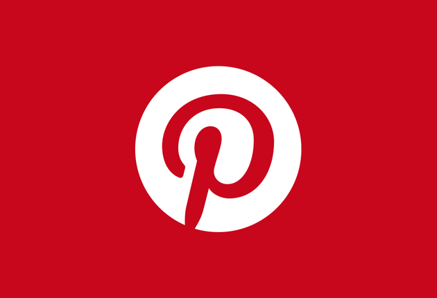 Pinterest Logo Website Ansicht
