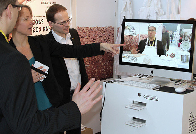 Augmented Reality Design Anwendung af didacta Messe Stuttgart